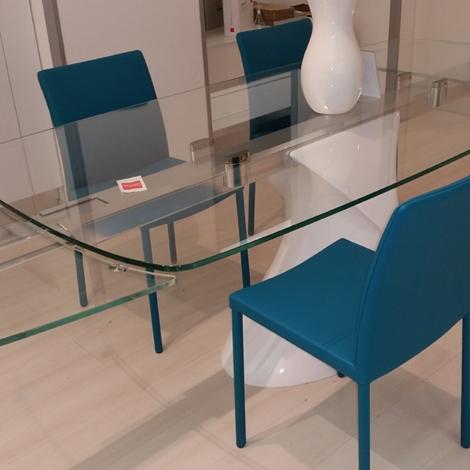 shanghai big allungabile in vetro : SCONTO 65% tavolo allungabile vetro SHANGHAI TONIN CASA - Tavoli a ...