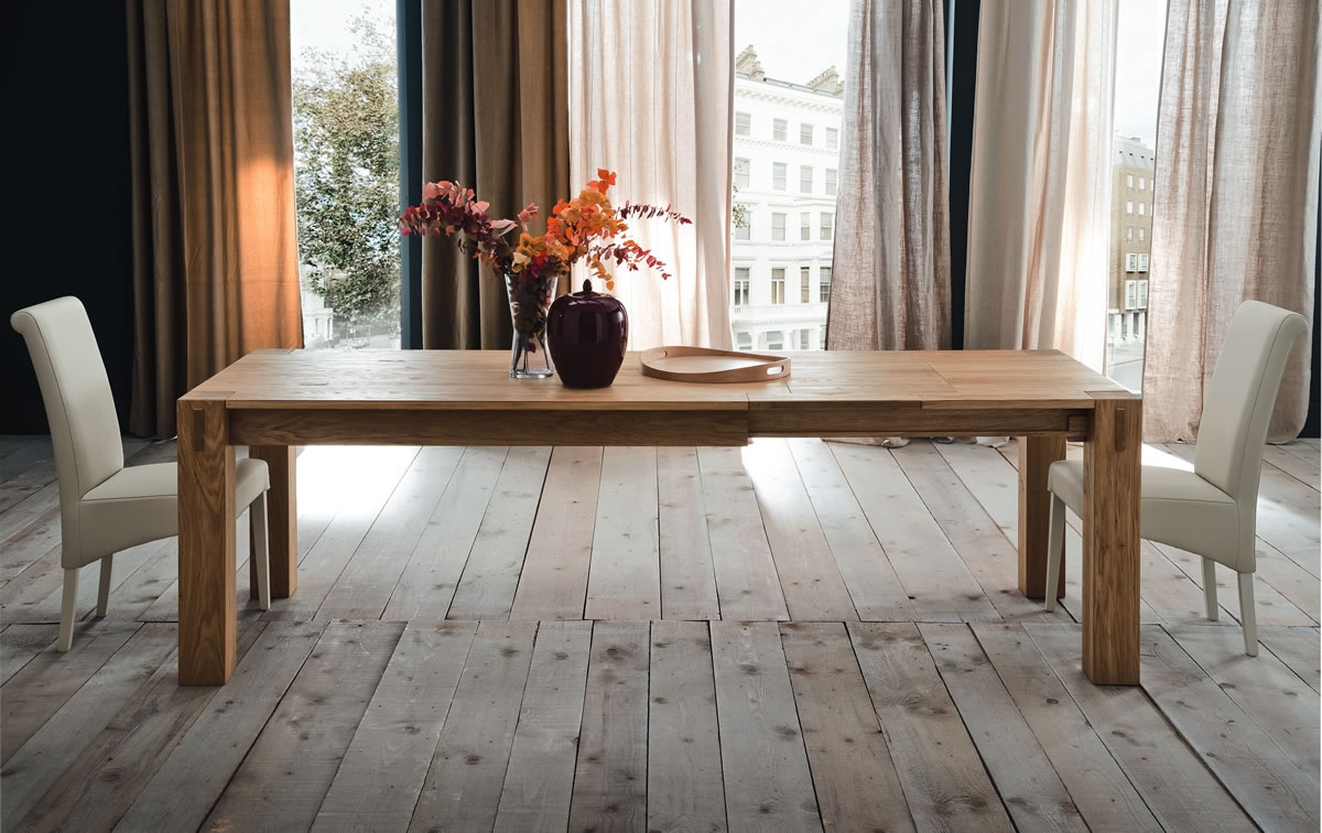 Tavolo allungabile stockholm in rovere tavoli a prezzi scontati - Tavolo desalto 25 prezzo ...
