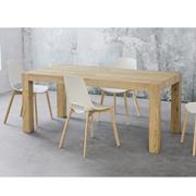 Tavolo allungabile Tola Long 180 in legno di rovere