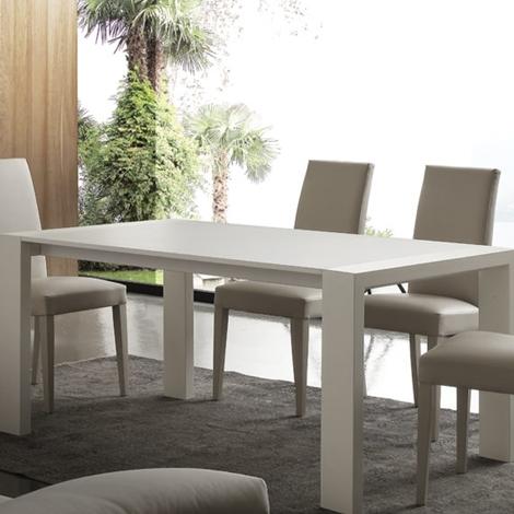 Tavolo allungabile moderno la seggiola tavoli a prezzi for Tavolo allungabile moderno