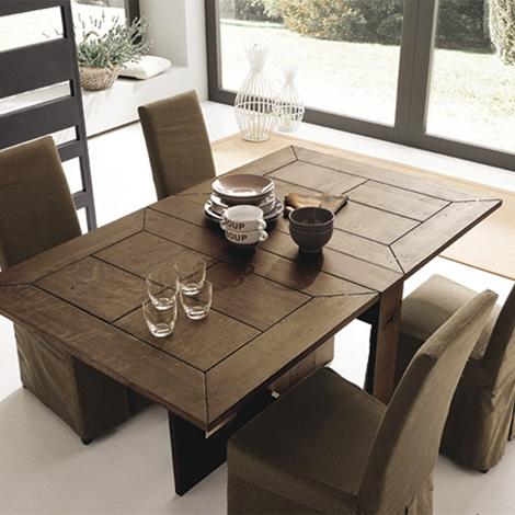 tavolo alta corte farfalla consolle allungabile legno