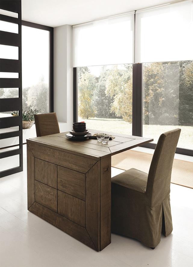 Tavolo alta corte farfalla consolle allungabile legno for Tavolo consolle con sedie