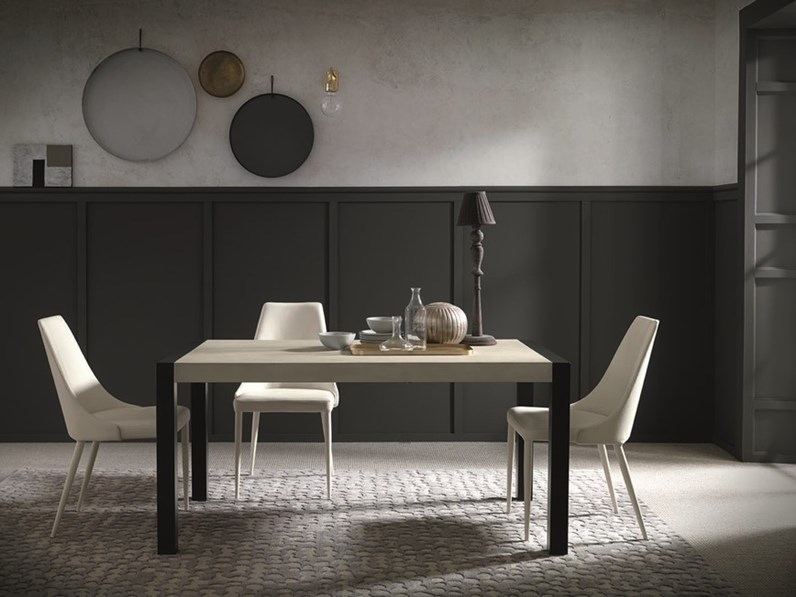 Tavolo argon altacom in offerta outlet for Outlet tavoli design