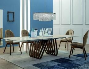 Tavolo Arpa Tonin Casa 8002 ceramic allungabile
