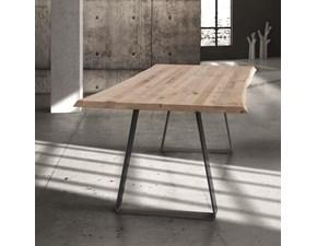 Tavolo Art 8060 Artigianale in legno Fisso