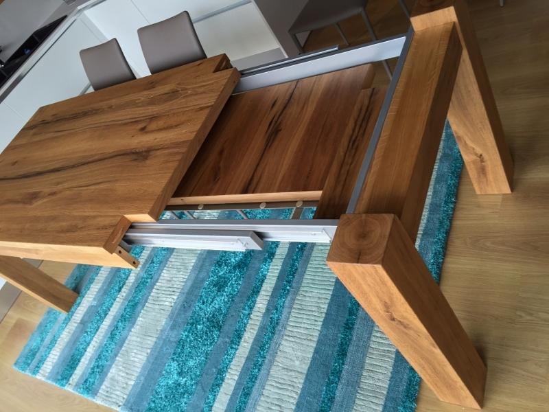 Tavolo artigianale allungabile rovere vecchio - Tavoli a prezzi ...