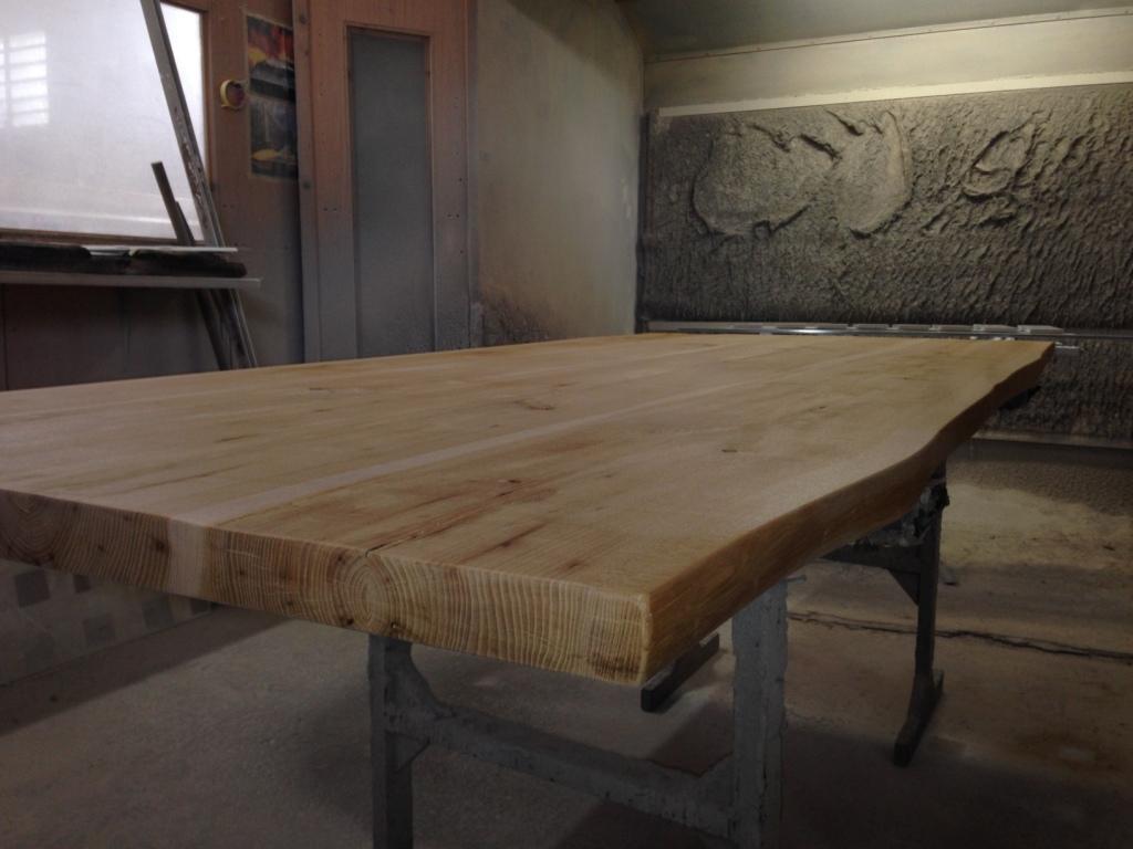 Tavolo artigianale in legno rettangolari fissi legno for Tavoli moderni in legno