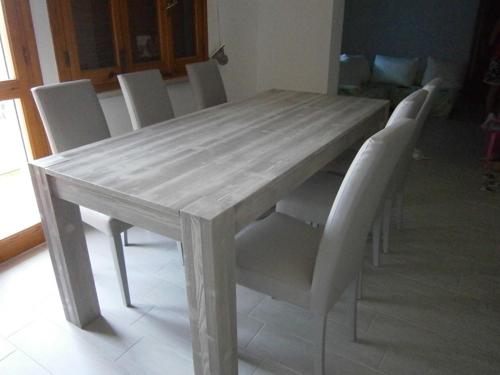 Tavolo artigianale in legno modello alice tavoli a - Tavoli in legno prezzi ...