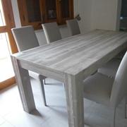 tavolo artigianale in legno