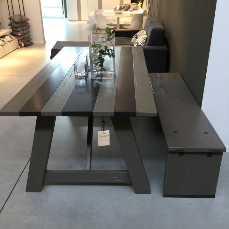Tavolo artigianale in rovere materico e ferro - Tavoli a prezzi ...