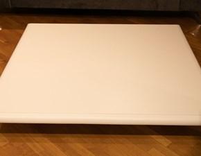 Tavolo Artigianale Tavolino basso sabot laccato bianco opaco PREZZI OUTLET