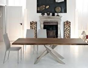 Tavolo ARTISTICO in legno allungabile in promo