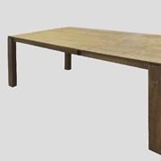 Tavolo allungabile in legno massello 160/247 cm