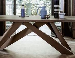 Tavolo Big table 200 Bonaldo in legno Fisso