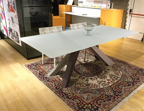 Tavolo Big table Bonaldo in vetro Fisso
