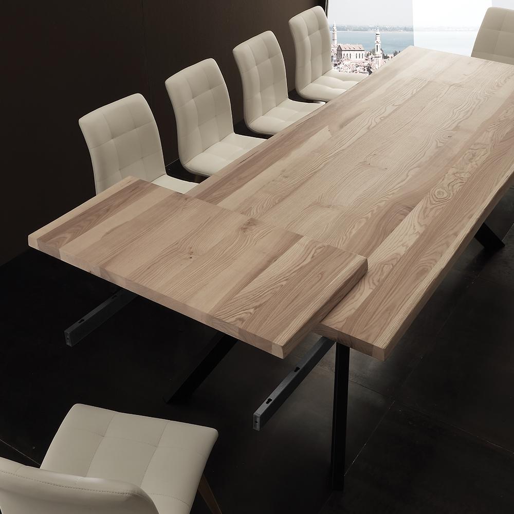 Tavolo bio allungabile tavoli a prezzi scontati for Tavolo legno frassino