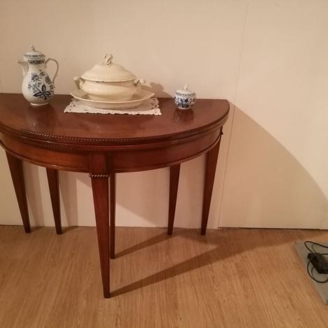 Bizzotto tavolo consolle tavolo noce bizzotto scontato del for Tavolo consolle noce