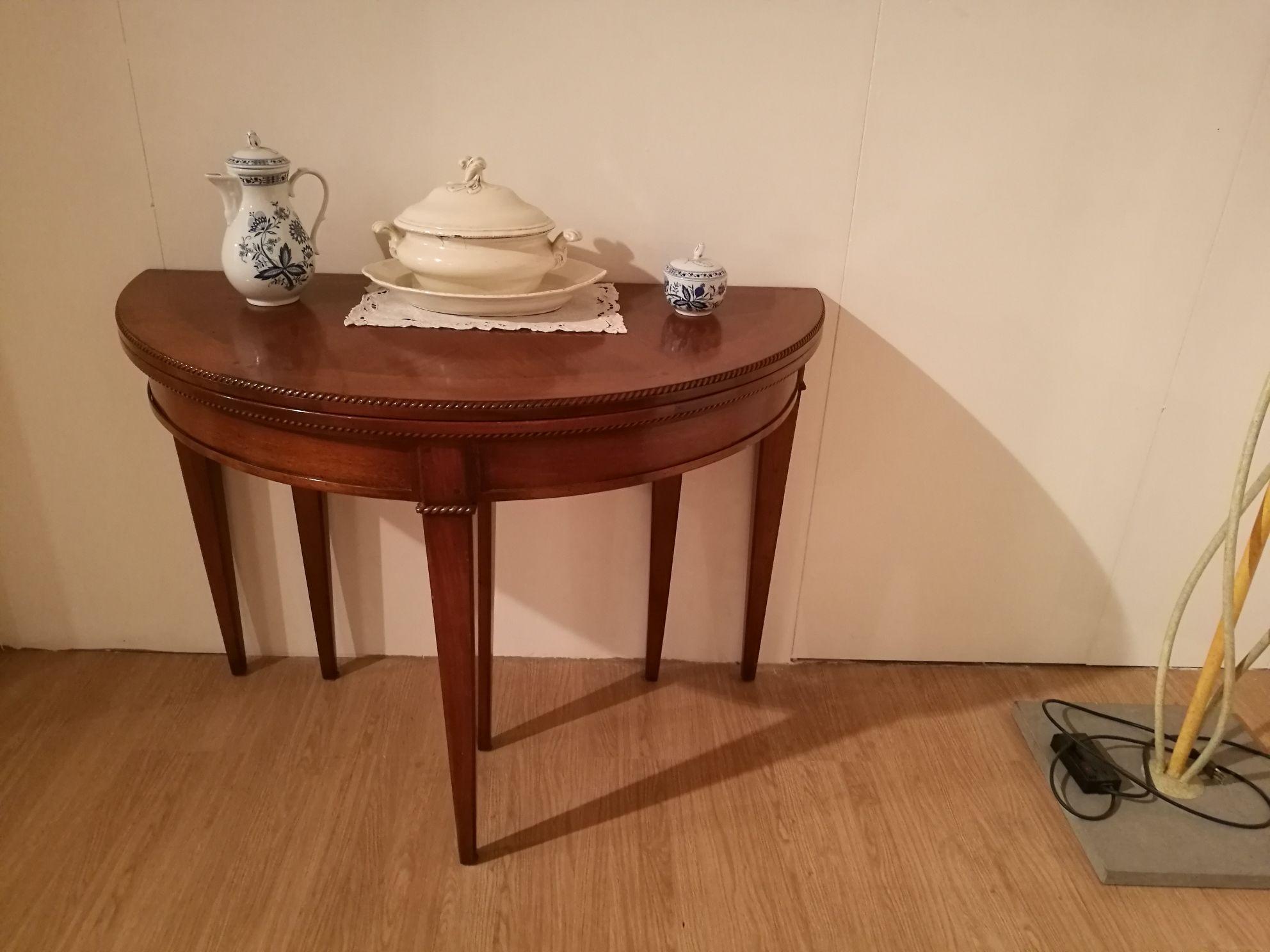 Bizzotto tavolo consolle tavolo noce bizzotto scontato del for Tavoli allungabili outlet