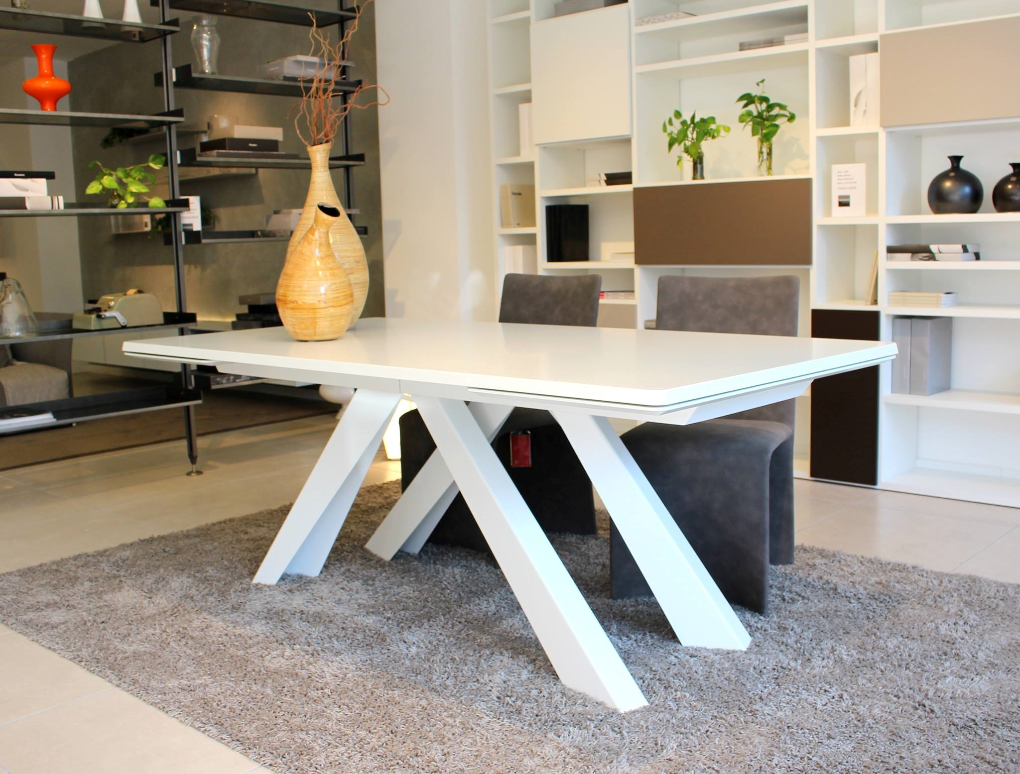 Tavolo bonaldo big table allungabile 200x100 rettangolari for Tavolo design outlet