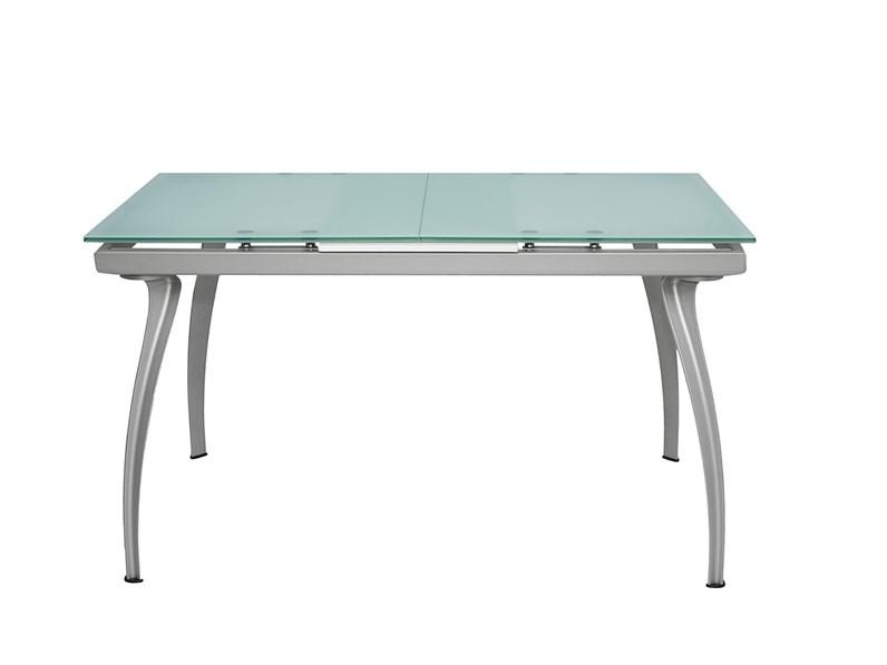 Ripiano In Vetro Per Tavolo.Tavolo Bonaldo Modello Oscar 132 Ripiano Vetro Sabbiato Rettangolare