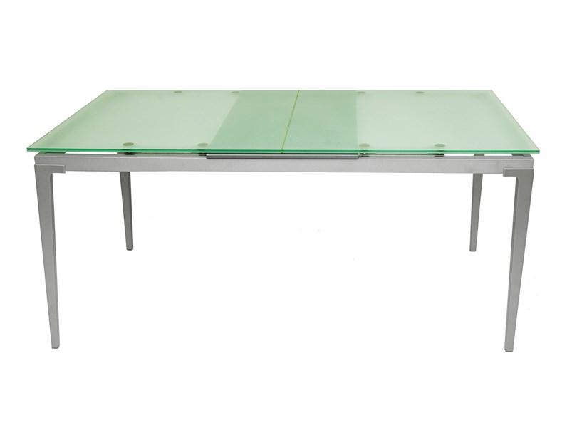 Ripiano In Vetro Per Tavolo.Tavolo Vetro Bonaldo Modello Sirio Allungabile Con Ripiano In Cristallo