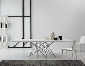 Tavolo vetro allungabile Octa Bonaldo