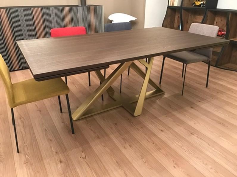 Bontempi casa tavolo millennium 190 x 106 scontato del 44 for Arredamenti serafino