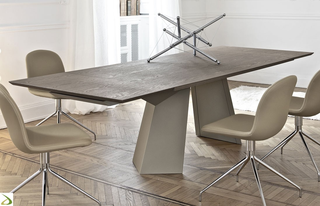 Promozione sul nuovo tavolo bontempi casa mod fiandre for Tavoli in cristallo allungabili