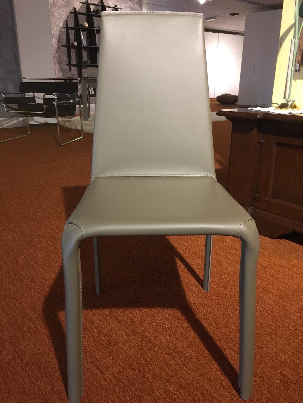 Tavolo bontempi casa mod niko allungabile con sedie alice for Sedie cuoio prezzi