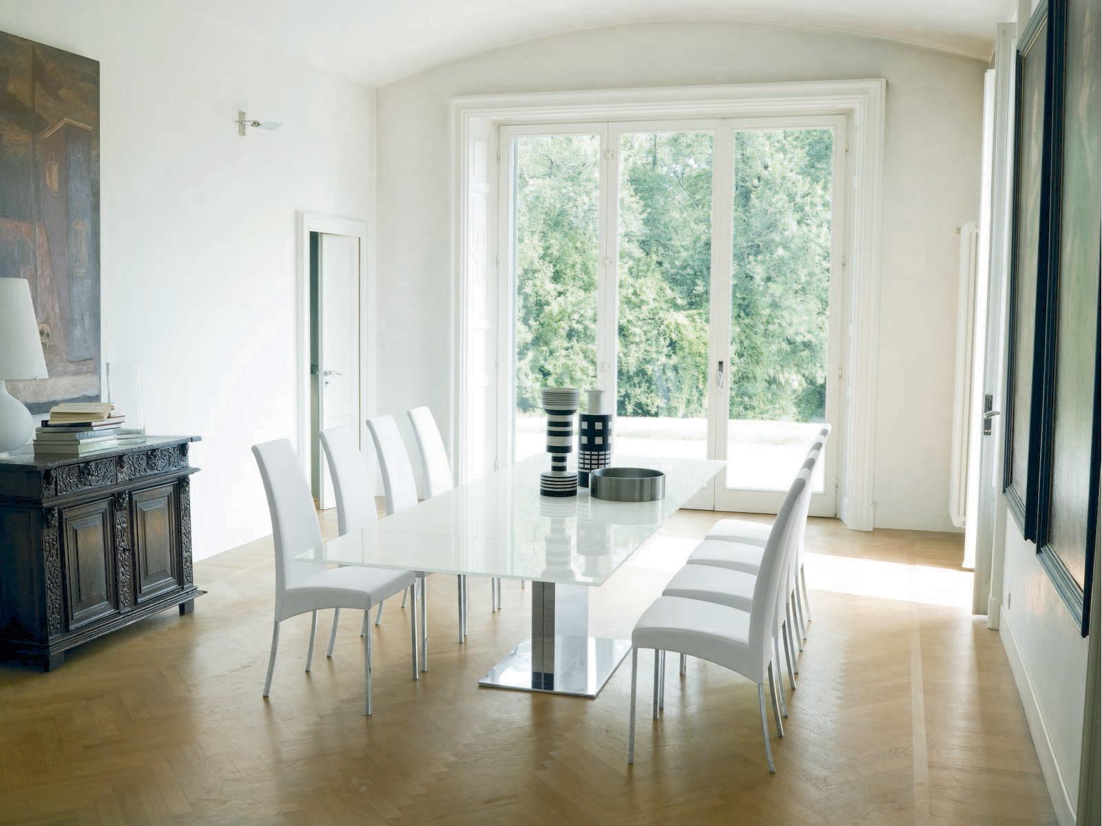 Tavolo fisso bontempi casa modello oasi tavoli a prezzi for Tavoli in cristallo