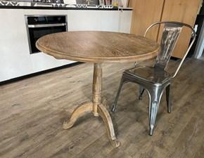 Tavolo Caffe' Dialma brown in legno Fisso