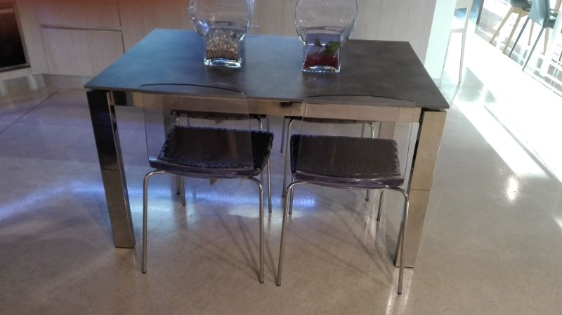 Tavolo calligaris baron rettangolari allungabili tavoli for Tavolo cemento calligaris