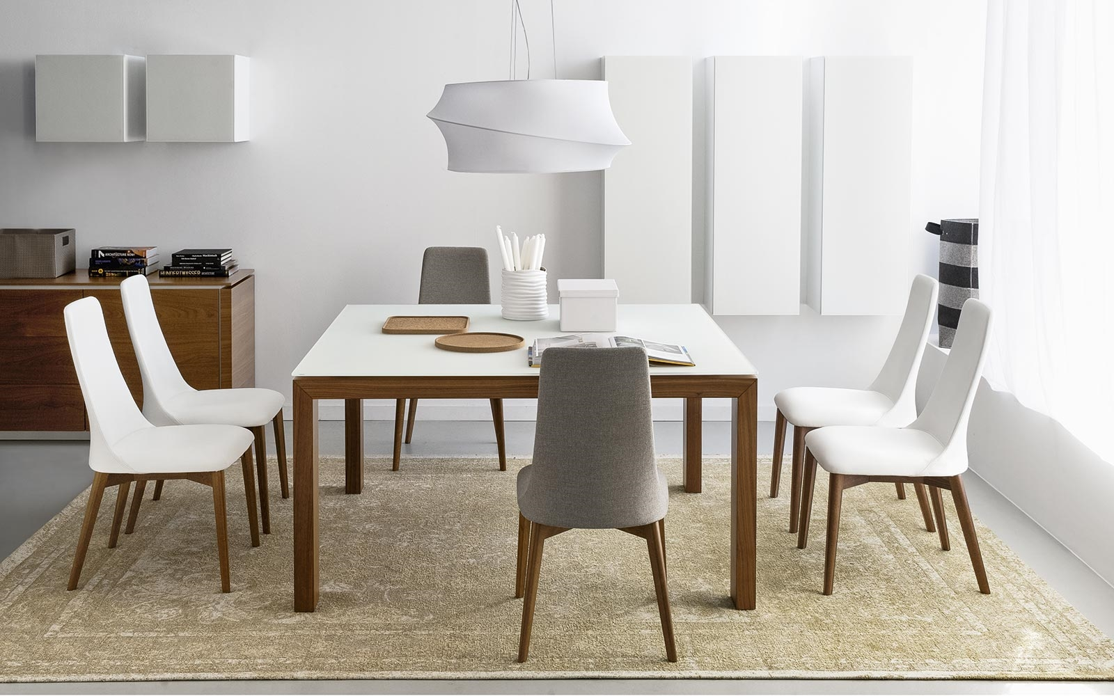 Tavolo calligaris sigma wood allungabile tavoli a prezzi for Tavoli moderni calligaris