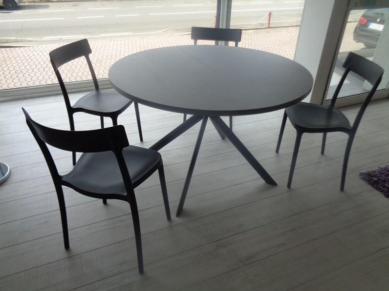 tavolo calligaris tavolo rotondo giove ceramica scontato 25
