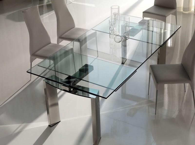 Tavolo cattelan modello daytona tavoli a prezzi scontati - Tavoli quadrati in cristallo ...