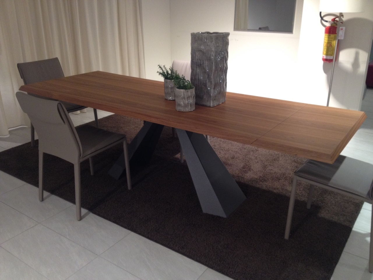 Tavolo cattelan eliot wood drive rettangolari allungabili for Tavoli rettangolari allungabili in legno