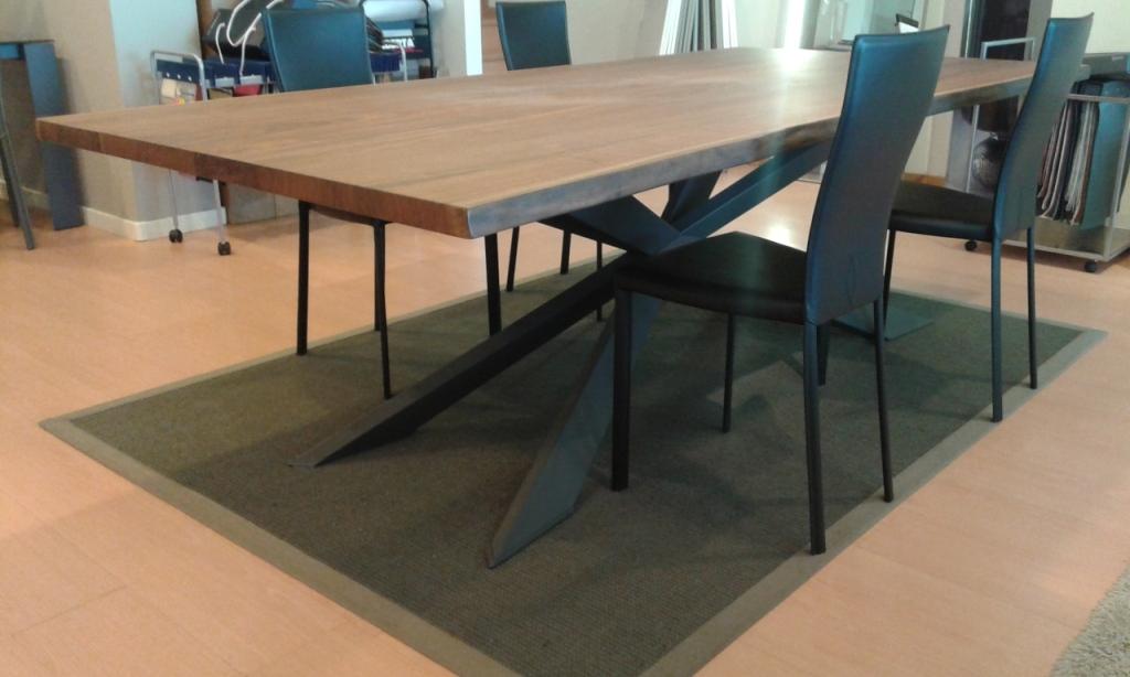Soggiorni Moderni Legno Massello: ... in legno massello e multistrato di imbo...