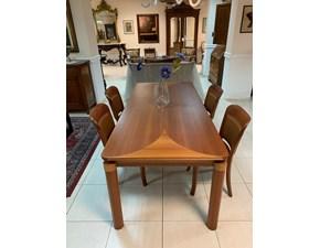 Tavolo Cedro Artigianale in legno Allungabile