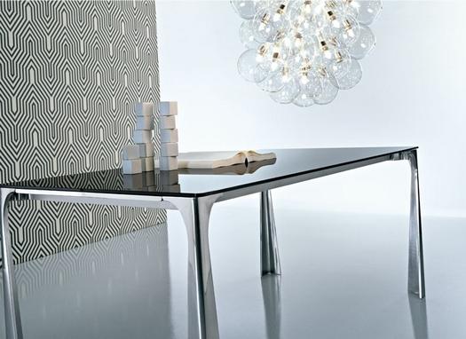 Tavolo allungabile ciacci miss e 4 sedie ciacci team in for Arredamento tavoli moderni
