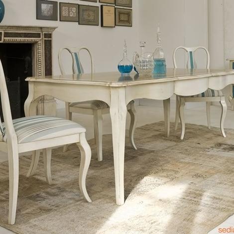 Tavolo classico tonin casa tavoli a prezzi scontati for Zanotti arredamenti