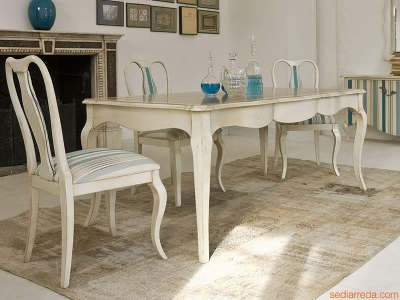 Tavolo classico tonin casa for Tavoli rettangolari moderni