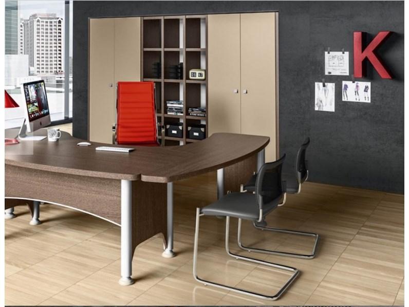 Ufficio Direzionale Legno : Tavolo composizione ufficio direzionale kronos zg mobili in