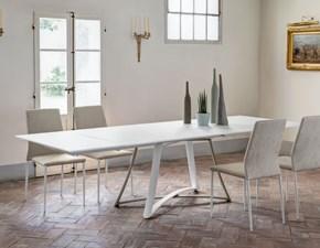 Tavolo con basamento centrale Big Bangdi Ingeniain Offerta Outlet