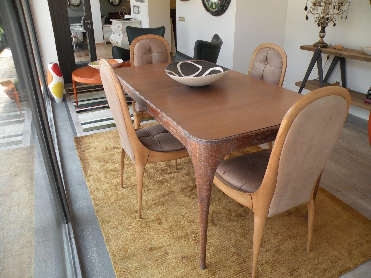 Tavolo con sedie zonta vero affare sconto 64 tavoli for Tavolo consolle con sedie