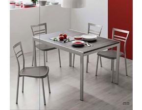 Tavolo Connubia modello Aladino CB/4742-l 120. Tavolo in legno allungabile disponibile in varie finiture.