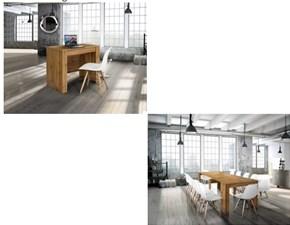 Tavolo consolle allungabile Allungabile 4 allunghe 3 colori fine produzione Md work a prezzo scontato