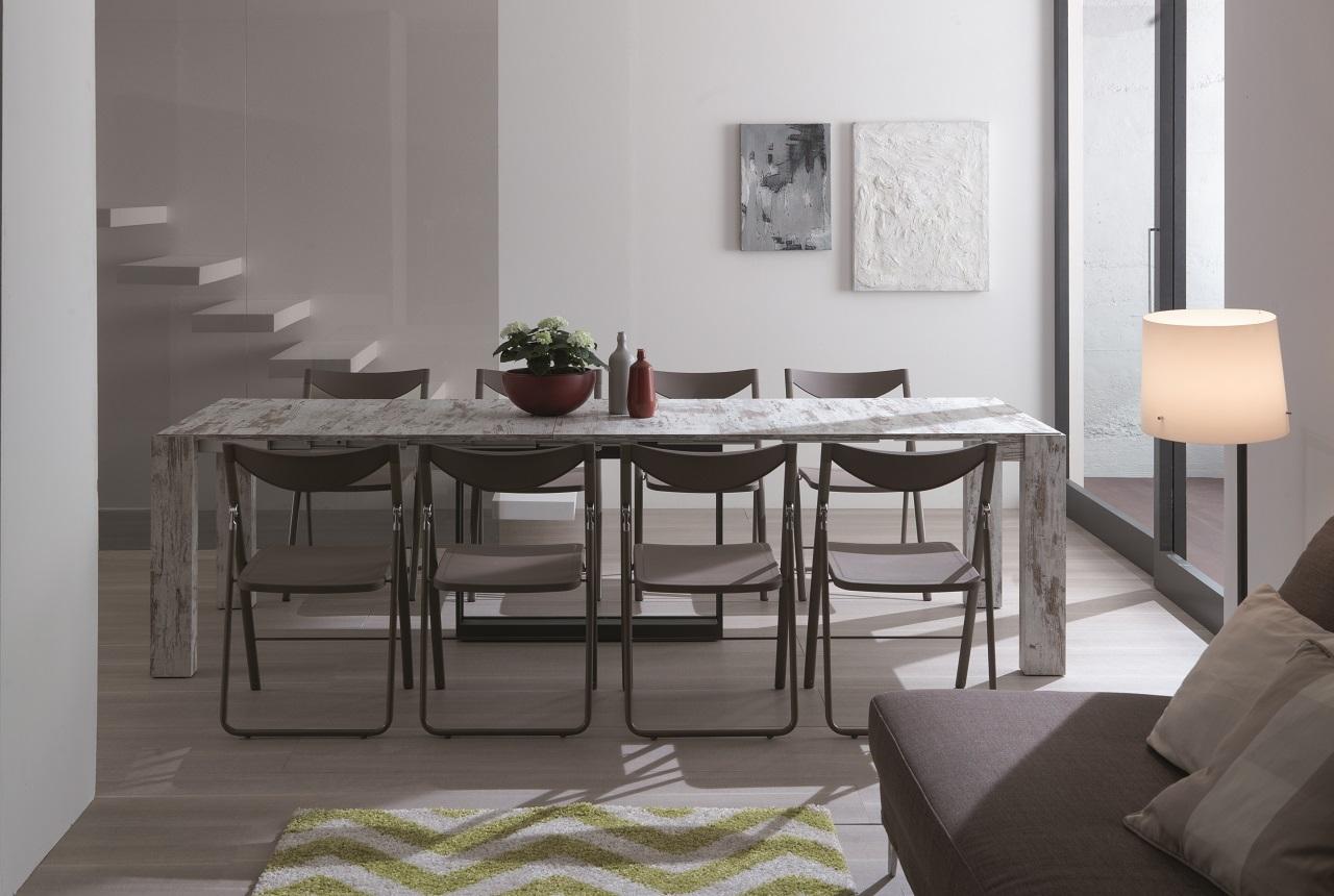 Tavolo consolle allungabile micro tavoli a prezzi scontati for Consolle tavolo