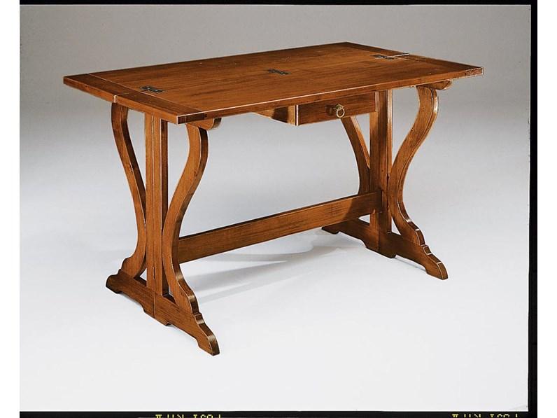 Tavolo tavolo consolle con cassetto scontato del 30 for Tavolo apribile