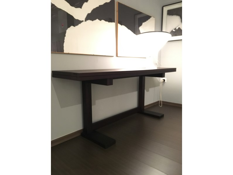 Tavolo consolle longhi longhi in offerta outlet for Outlet tavoli