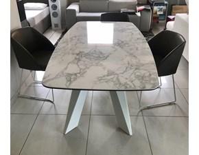 Tavolo Cosmo Friulsedie in marmo Fisso